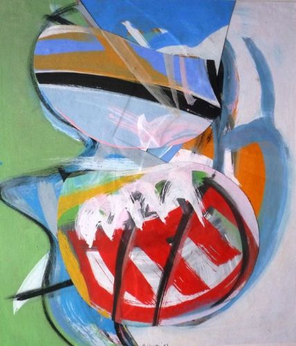 Martin Lanyon Abstract Mixed Media and Collage